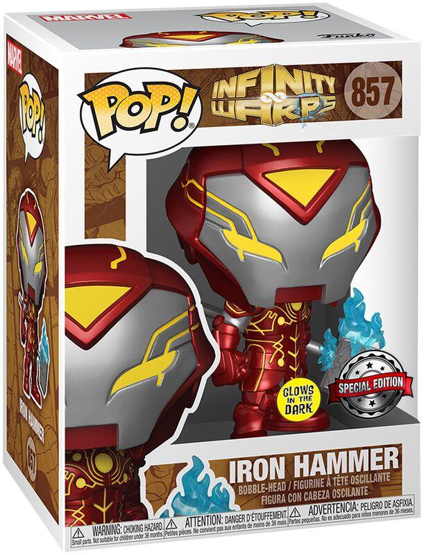 Infinity Warps - Iron Hammer (Glow In The Dark) Vinyl Figur 857