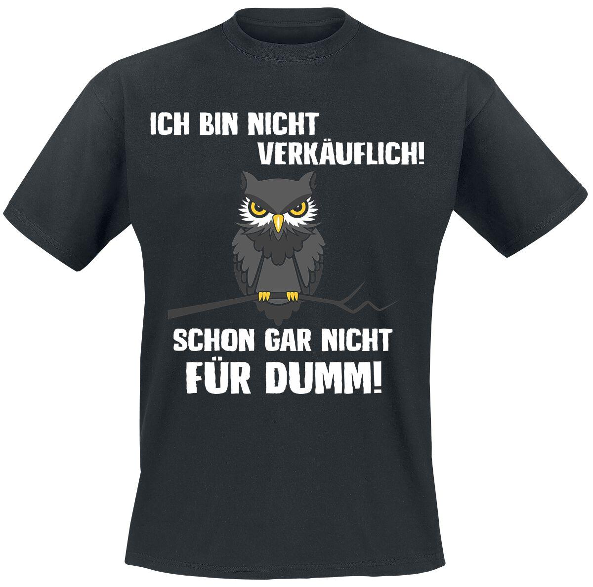 Ich bin nicht verkäuflich T-Shirt schwarz POD - Gildan Softstyle - 5412