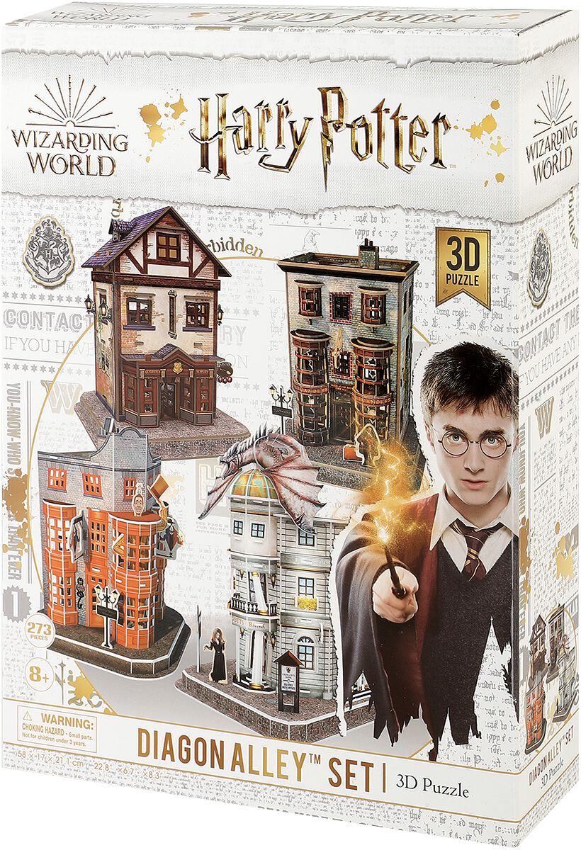 Harry Potter Diagon Alley (3D Puzzle) Puzzle multicolor CF10090