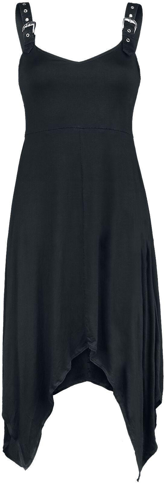 Kleider für Frauen - Gothicana by EMP Nadine Kleid schwarz  - Onlineshop EMP