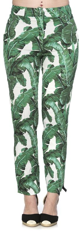 Tropical Leaves Tousers