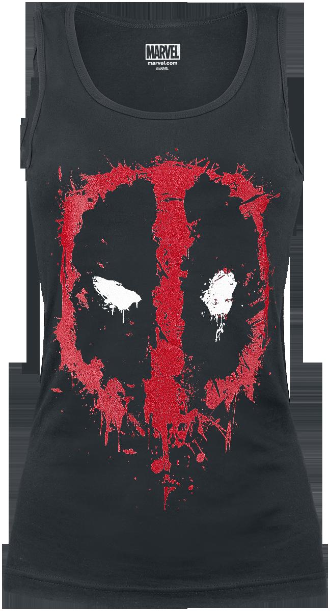 Deadpool - Logo - Girls Top - black image