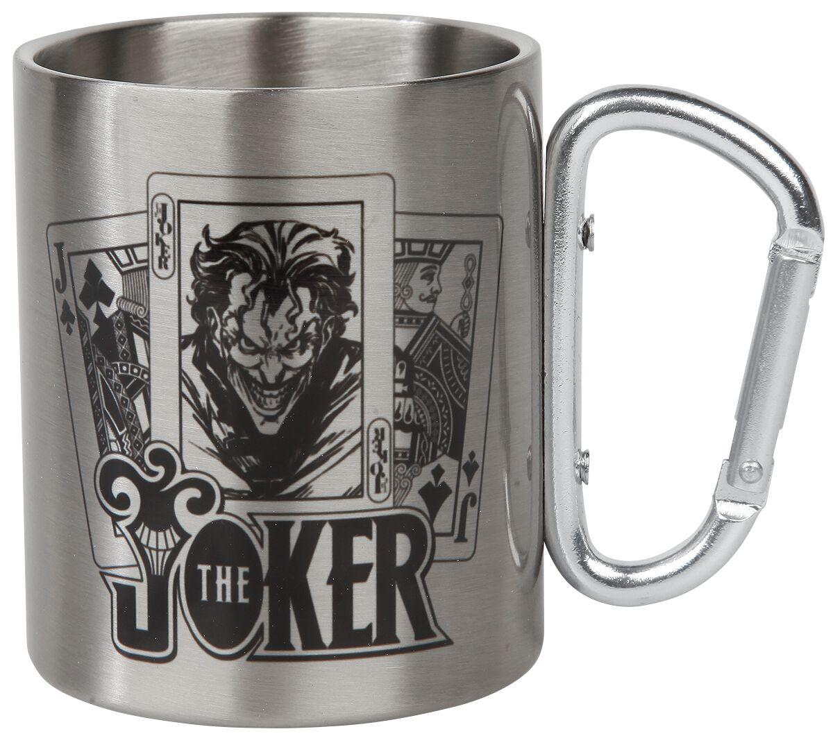 The Joker Tasse mit Karabinerhaken Tasse silberfarben MGCM0027