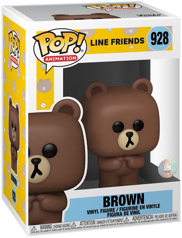 Brown Vinyl Figur 928