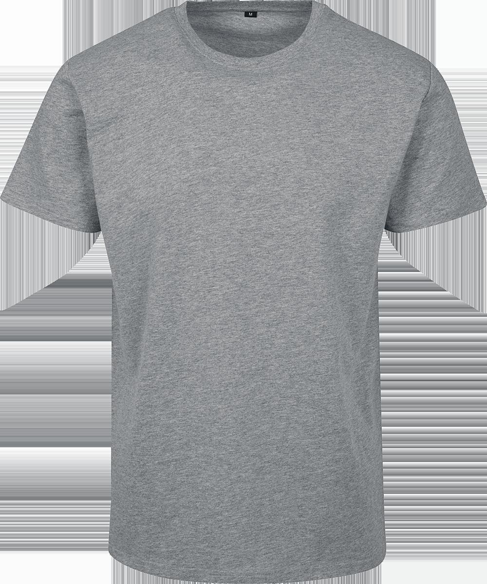 Built Your Brand - Basic T-Shirt - T-Shirt - mottled grey image