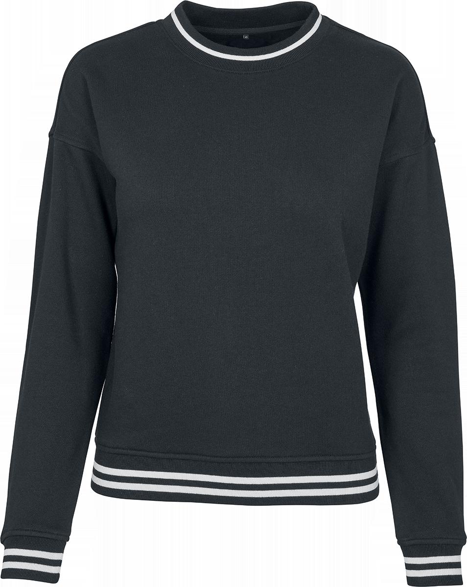 RED by EMP - Ladies College Sweat Crew - Girls sweatshirt - black-white image