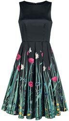 Annie Retro Meadow Floral Print Swing Dress