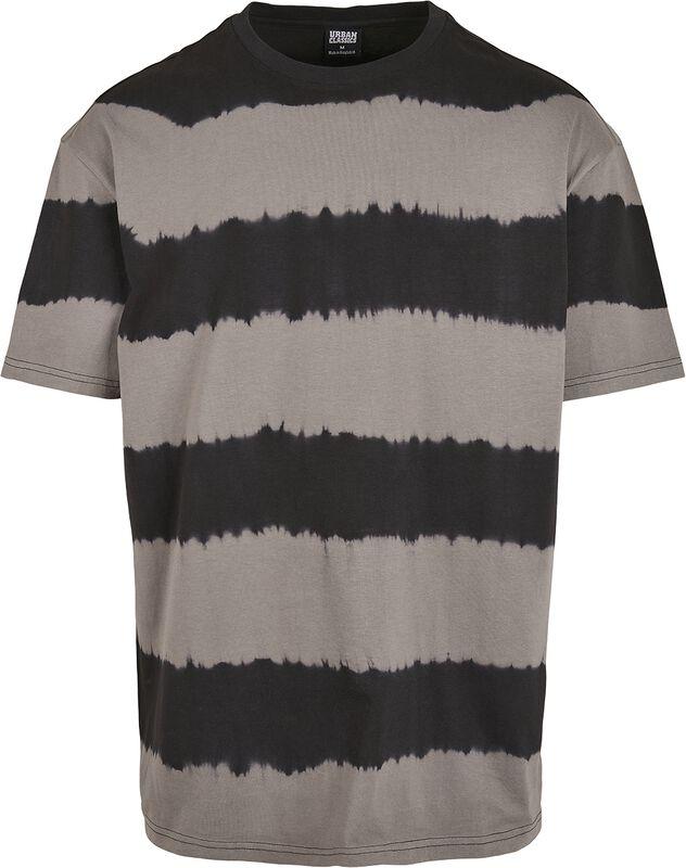 Oversized Striped Tye Dye Tee