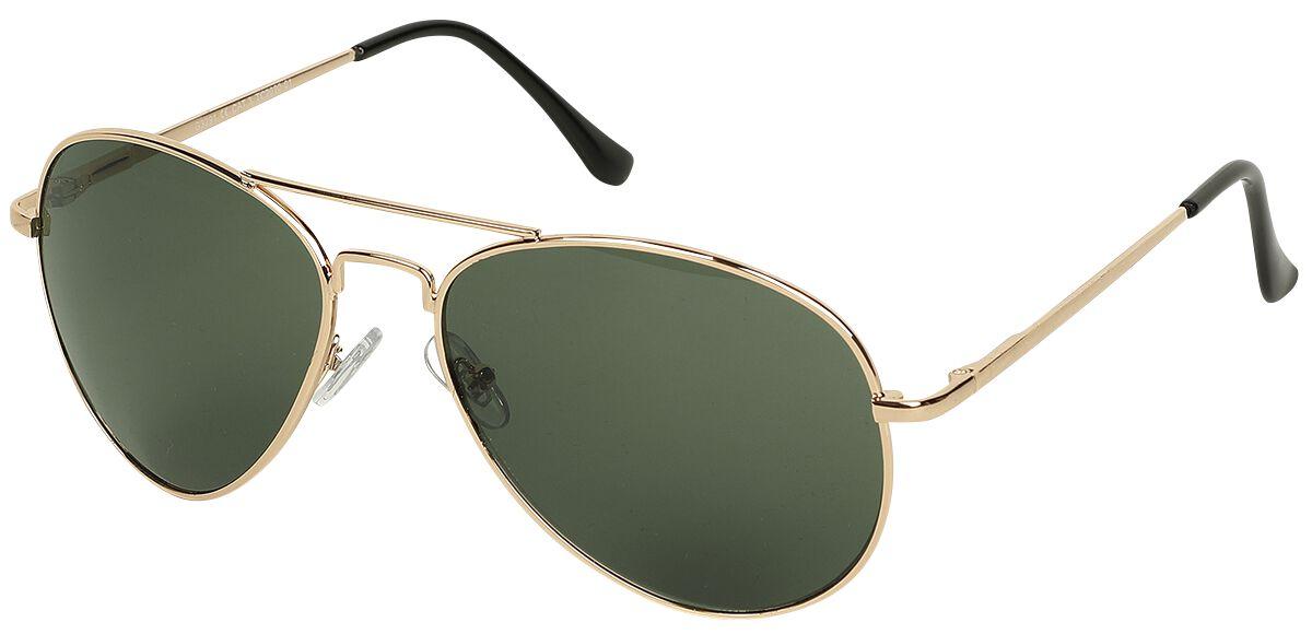 Sonnenbrillen - Pilotenbrille Aviator Green Sonnenbrille dunkelgrün  - Onlineshop EMP