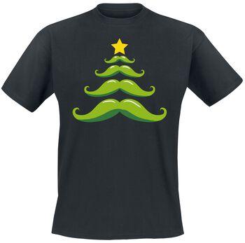 Schnurrbart Weihnachtsbaum