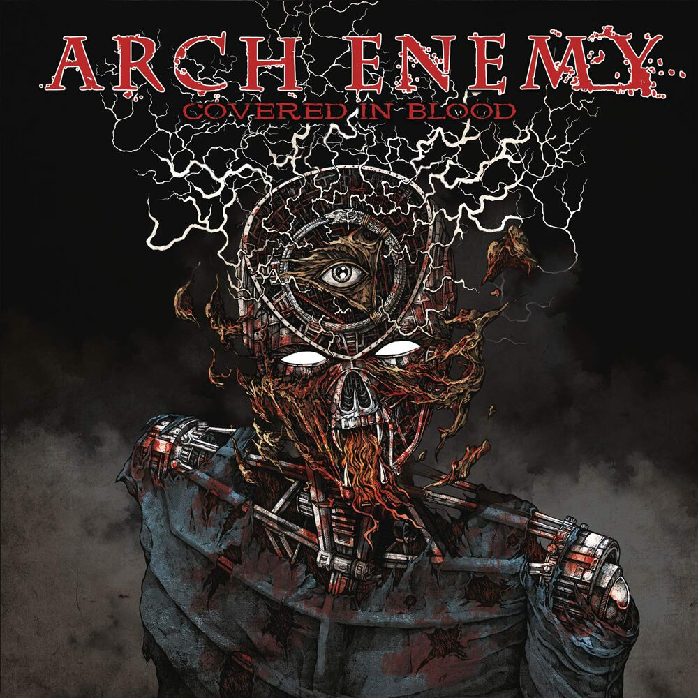Image of Arch Enemy Covered in blood CD Standard