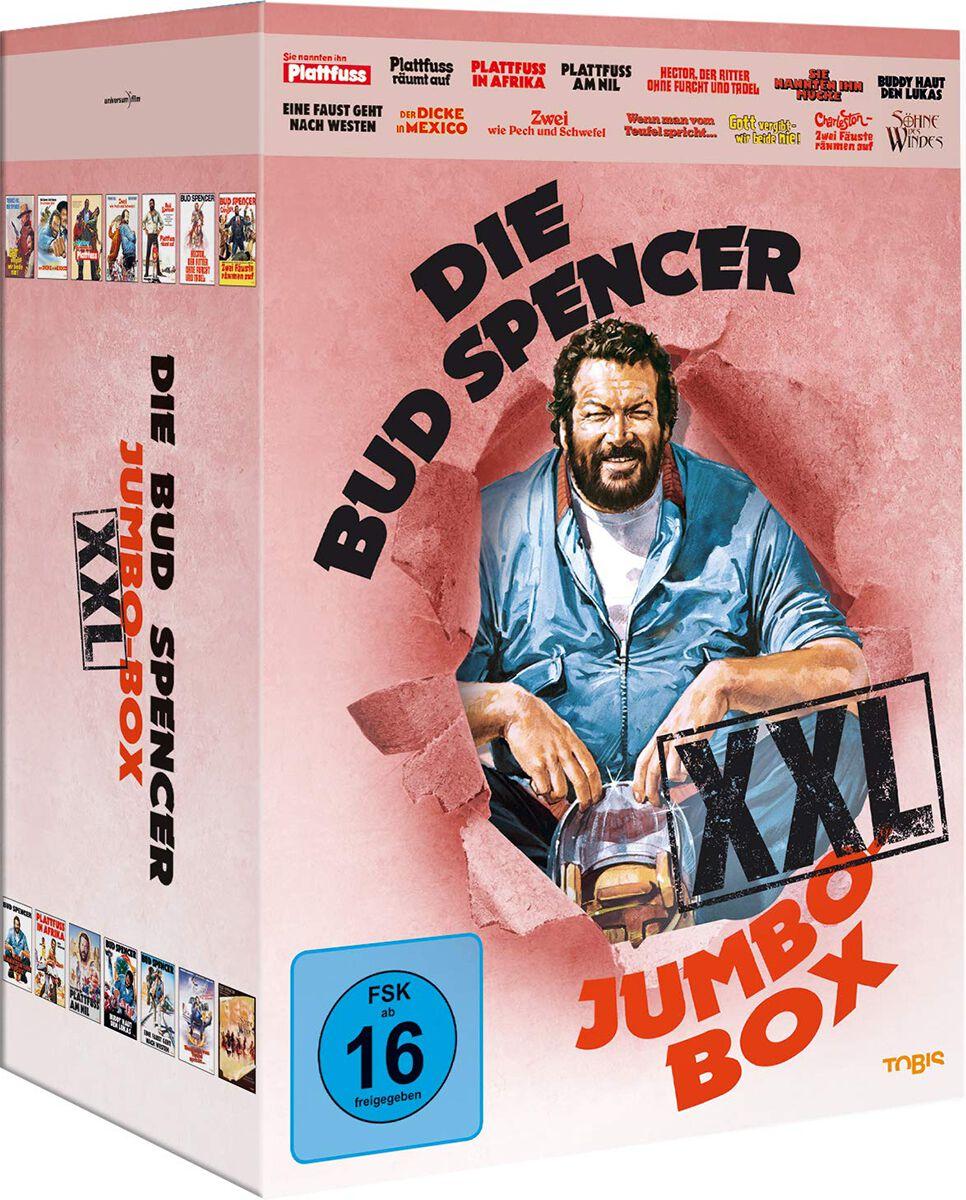 Image of Bud Spencer Die Bud Spencer Jumbo Box XXL 14-DVD Standard