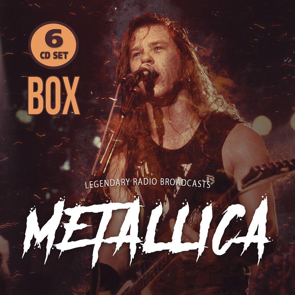 Image of Metallica Legendary radio broadcasts 6-CD Standard