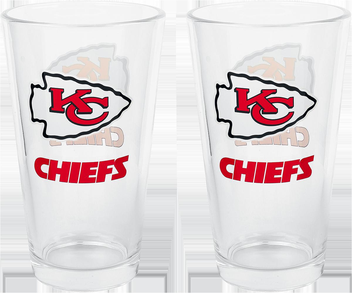 NFL - Kansas City Chiefs - Pint-Glas - multicolor