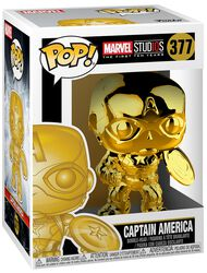 Marvel Studios 10 - Captain America (Chrome) Vinyl Figure 377