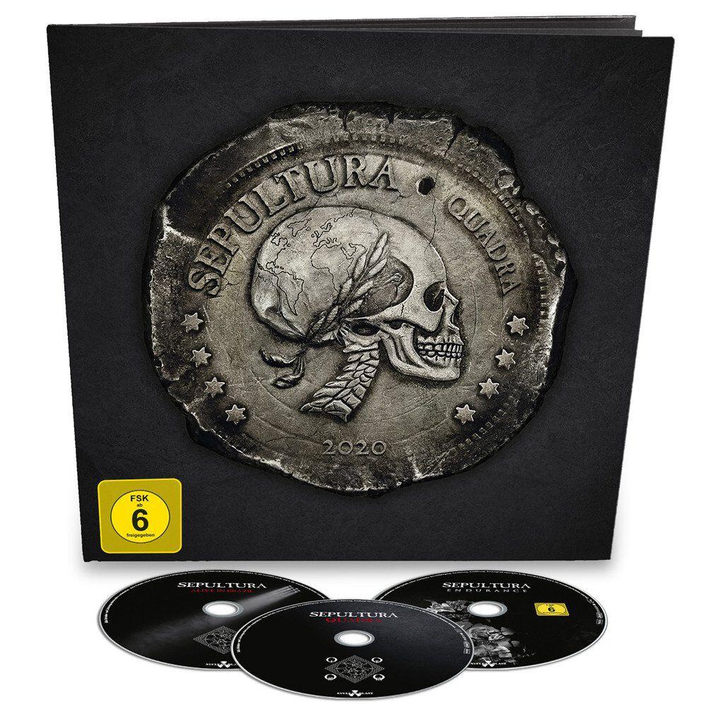 Image of Sepultura Quadra 2-CD & Blu-ray Standard