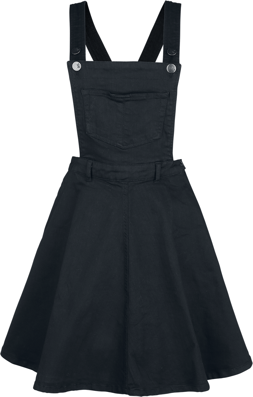 Hell Bunny - Dakota Pinafore Dress - Dress - black image