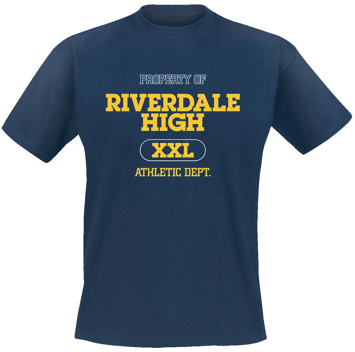 Riverdale - Varsity Logo - T-Shirt - blue image