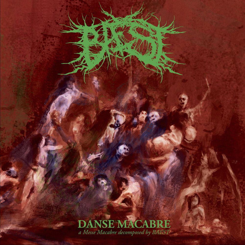 Image of Baest Danse macabre CD Standard