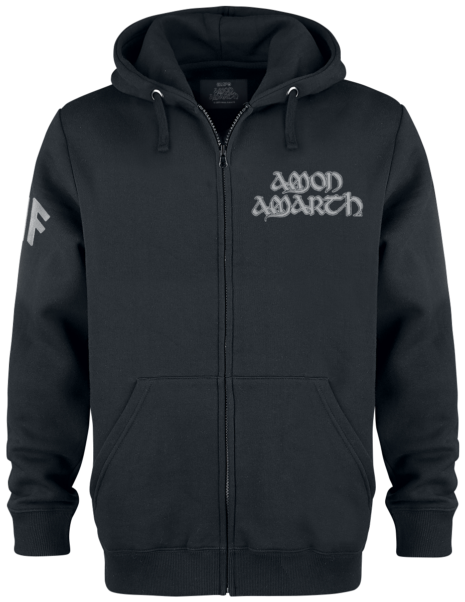 Amon Amarth - Ship - Hooded zip - black image