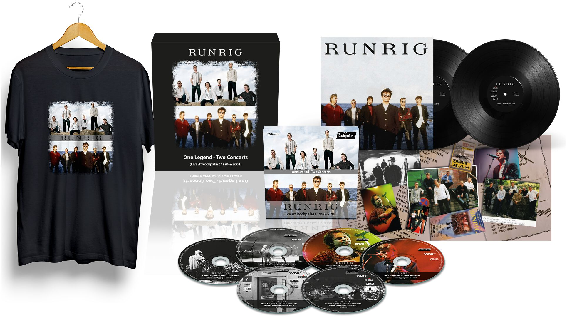 Image of Runrig One legend-Two concerts 4-CD & 2-CD & 2 x 7 inch Standard