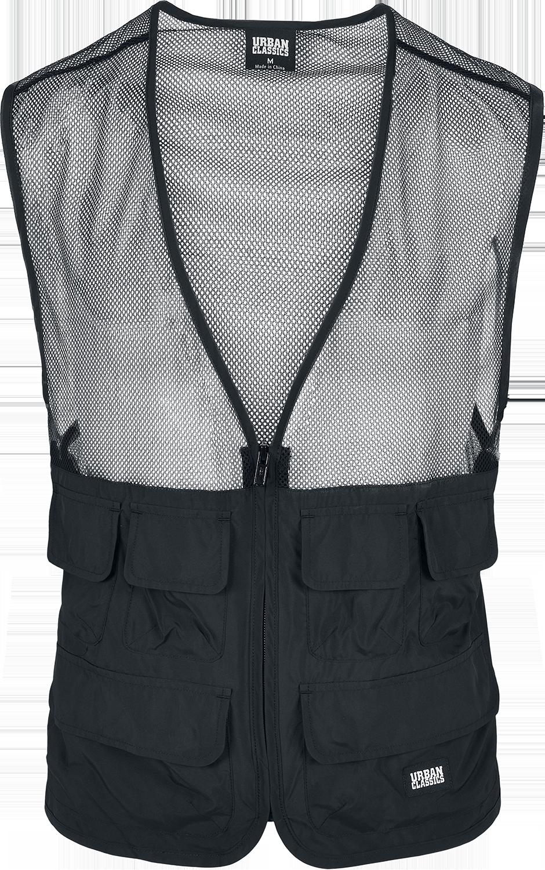 Urban Classics - Light Pocket Vest - Weste - schwarz