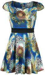Peacock Mini Dress