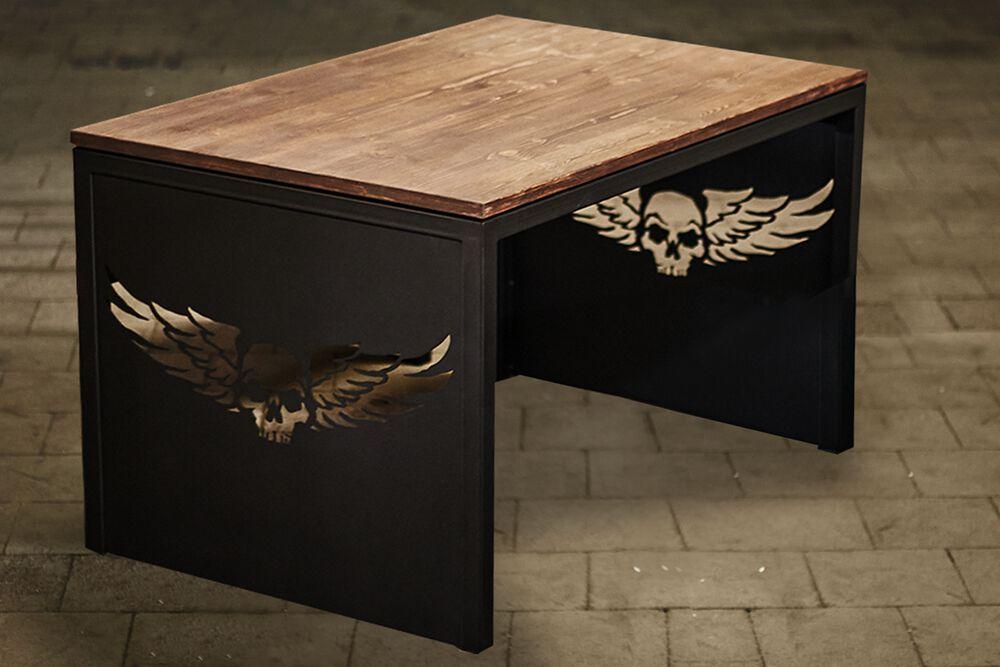 Skull - Sitztisch