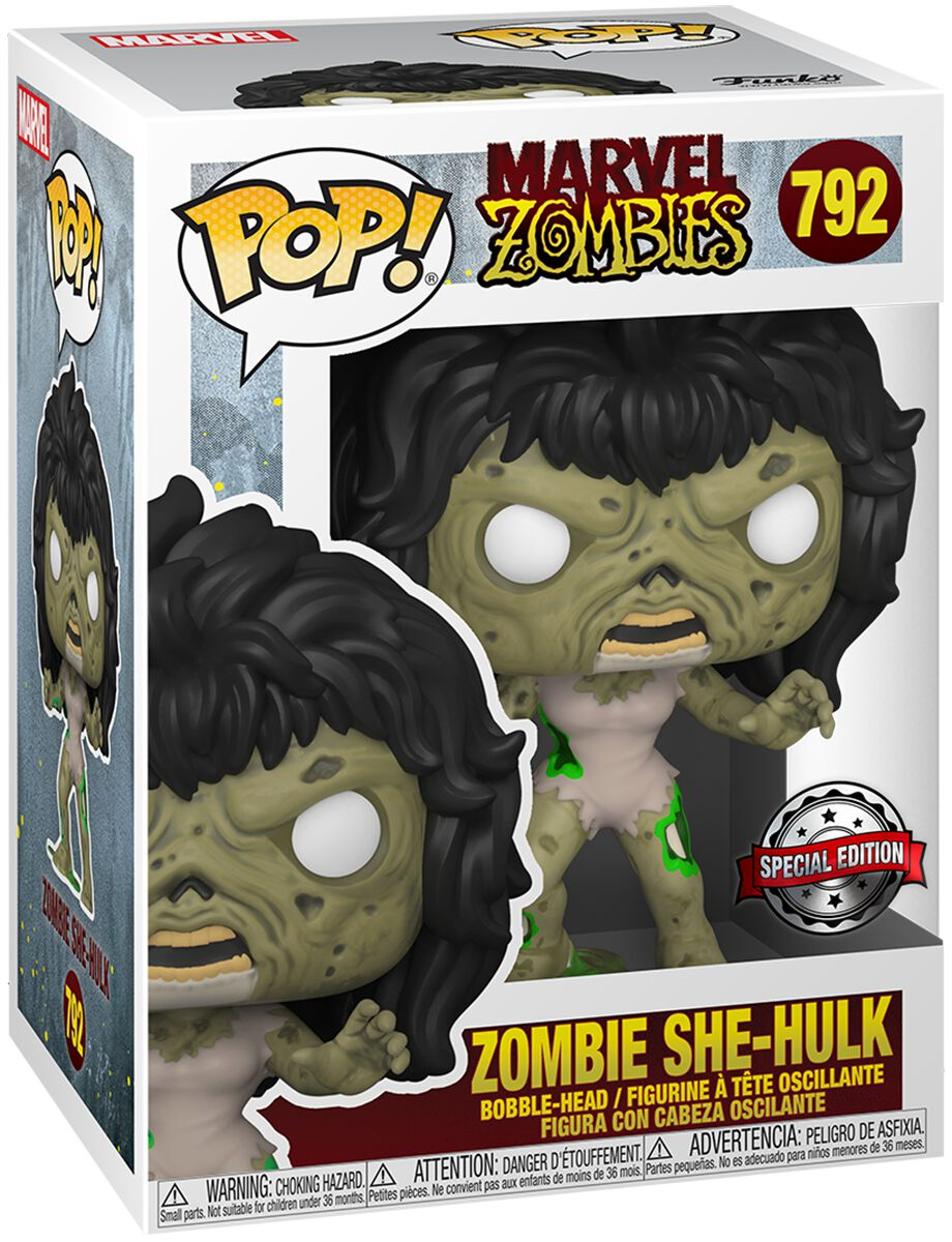 Marvel Zombies - Zombie She Hulk Vinyl Figur 792 Funko Pop! multicolor 49128