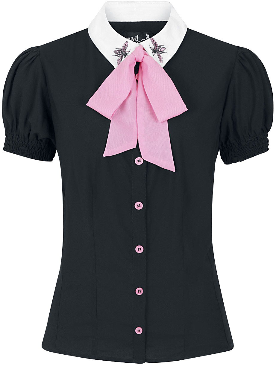 Hell Bunny - Buzz Blouse - Blouse - black image