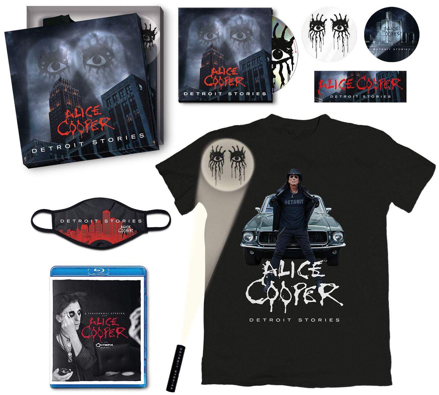 Alice Cooper  Detroit stories  CD & Blu-ray  Standard
