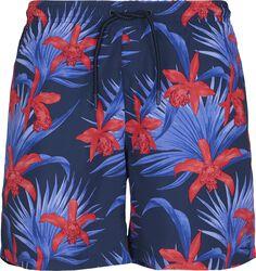 Pattern Swim Shorts