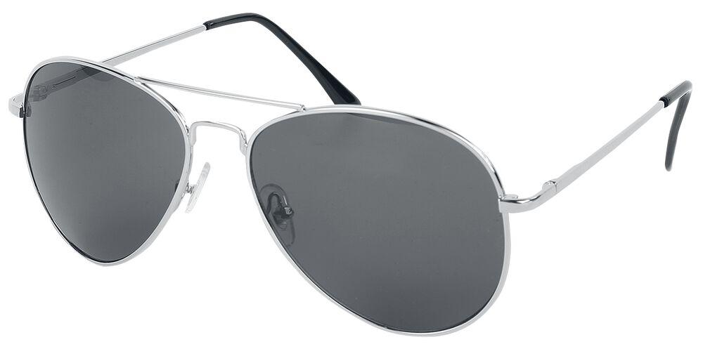 Pilotenbrille Shiny Silver