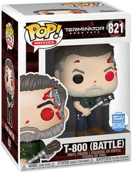 Dark Fate - T-800 (Battle)  (Funko Shop Europe) Vinyl Figure 821