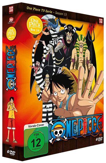 Image of One Piece Die TV-Serie - Box 14 6-DVD Standard