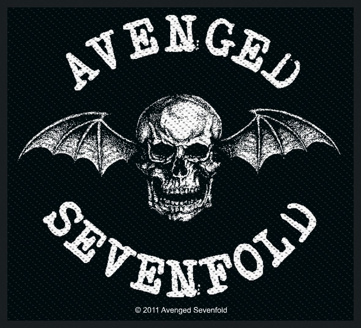 Image of Avenged Sevenfold Deathbat Patch Standard