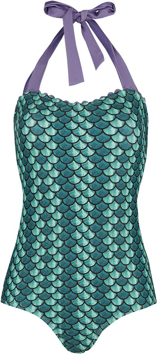 Image of Arielle, die Meerjungfrau Lovers Badeanzug multicolor