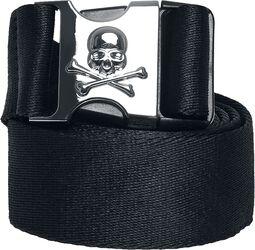 Skull Buckle Belt