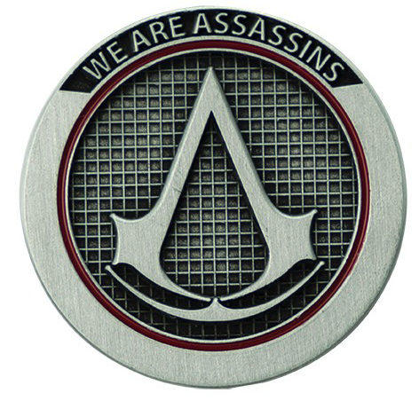 Assassin's Creed - We Are Assassins - Pin - silberfarben