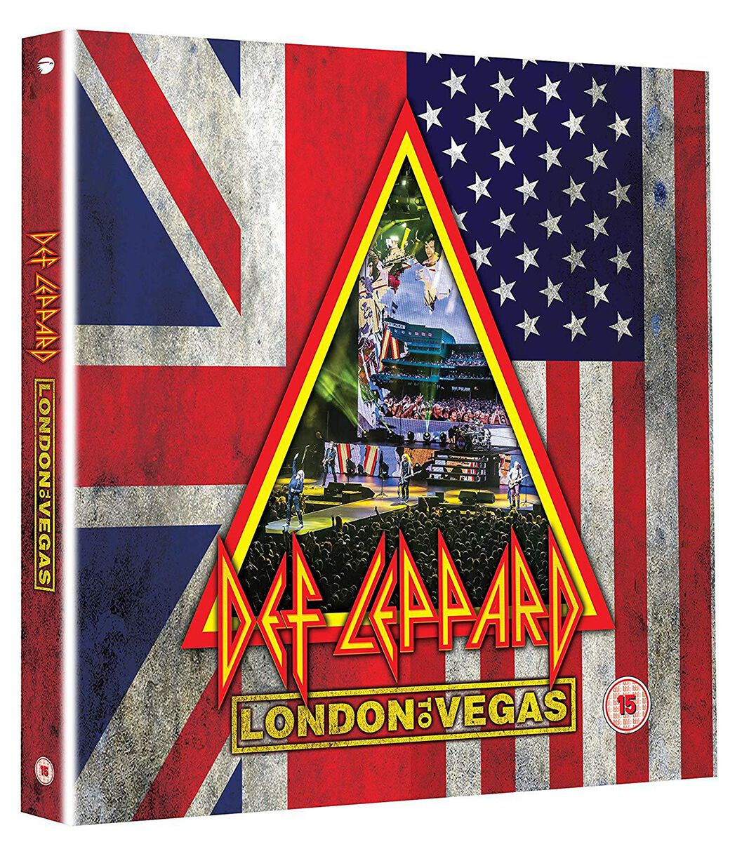 Image of Def Leppard London to Vegas 2-Blu-ray & 4-CD Standard