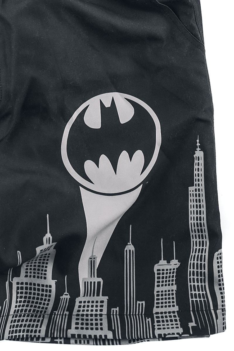 Image of Batman Gotham Badeshorts schwarz