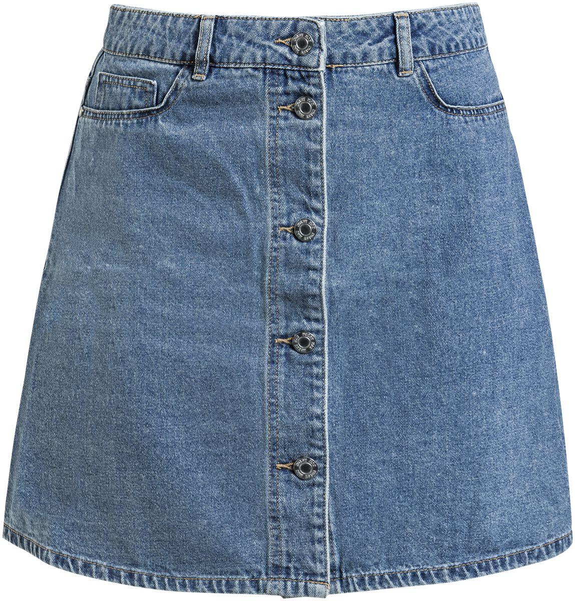 Roecke - Noisy May Sunny Short Skater Skirt Kurzer Rock blau  - Onlineshop EMP