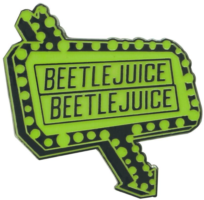 Beetlejuice Beetlejuice Pin grün ABYPIN030