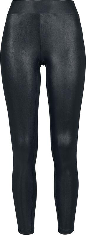 Ladies Imitation Leather Leggings