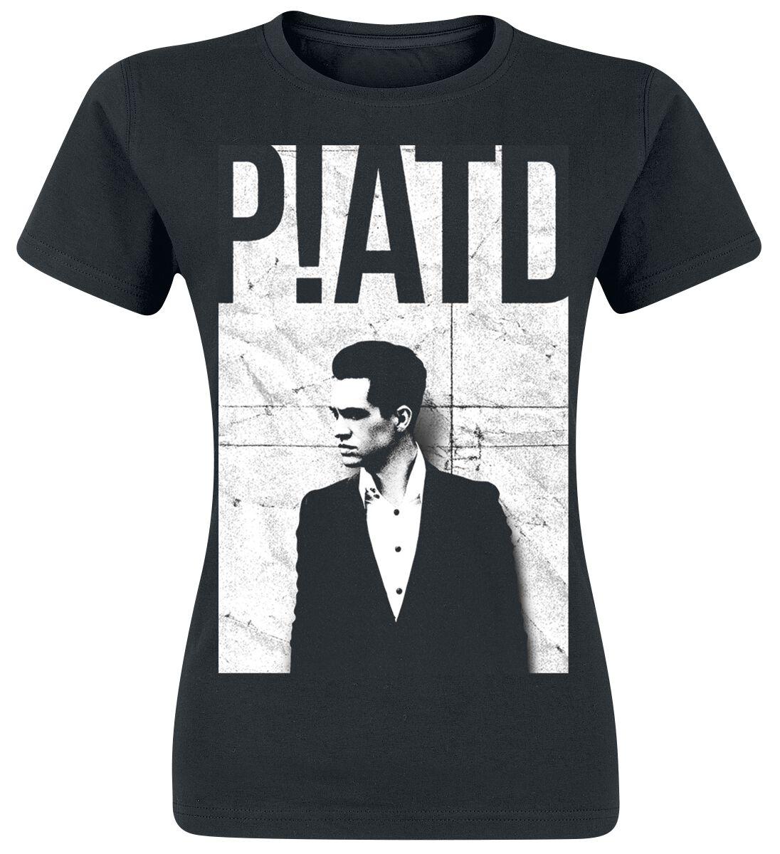 Black White Panic At The Disco T Shirt Emp