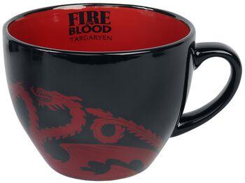 House Targaryen - Cappuccino Tasse