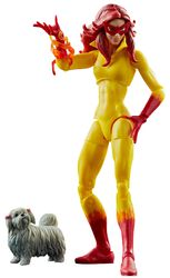 Marvel Legend Series - Firestar mit Hund