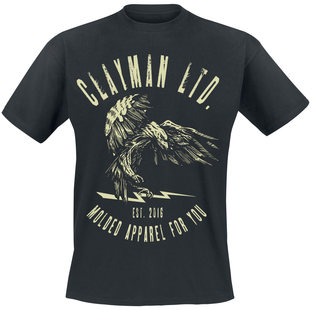 Clayman Ltd. - Death From Above - T-Shirt - black image