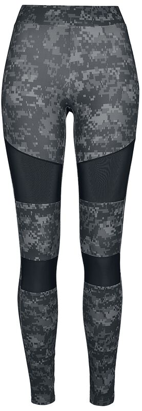 Ladies Digital Camo Tech Mesh Leggings