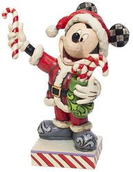 Mickey With Candy Canes